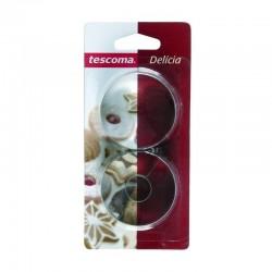 Set 2 Tagliabiscotti tondi cm.4,5 - Delicia - Tescoma