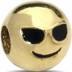 Ciondolo Ciondolo Charm cool in argento Argenesi - oro