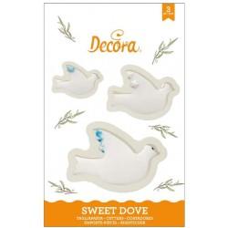 Tagliapasta sweet dove - Decora - a forma di colomba pasquale
