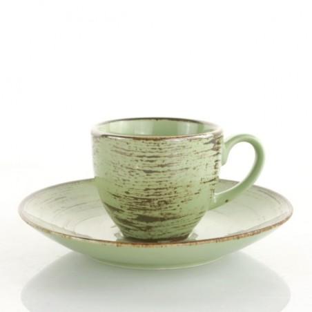 Set 6 tazzine caffè c/piattino Devon - Weissestal