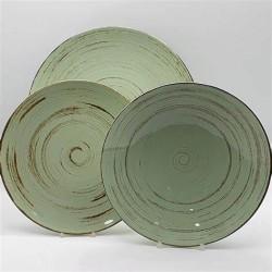 Servizio di piatti da tavola 18pz. Cottage Green - Weissestail