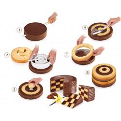 Utensile per torta a scacchiera Delicia - Tescoma