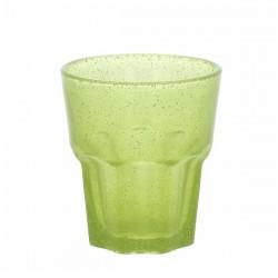 Set 6 bicchieri acqua  particolari - Trinidad verdi - Andrea Fontebasso