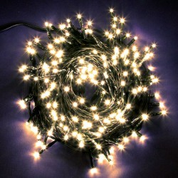 Serie 180 luci natalizie led luce fredda - Forze Casa