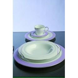 Servizio di piatti Class Lilla 41 pezzi - Tognana