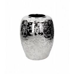Sterling vaso bombato 24x30 ceramic argento - Tognana