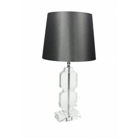 Lampada Manon cm.70 Cristal grigio -Tognana