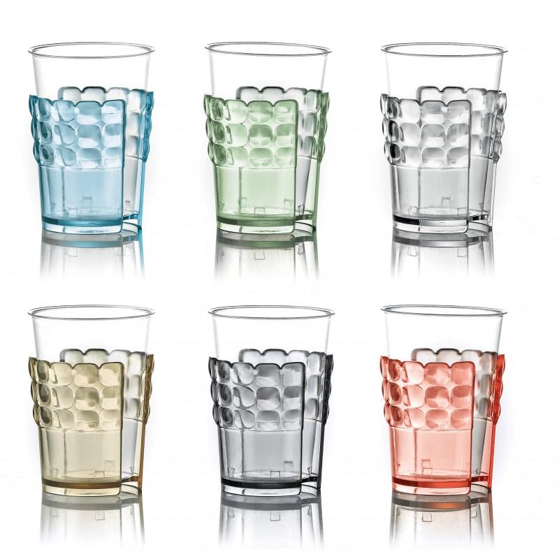 Set 6 Reggibicchieri Universali Tiffany Guzzini - Diversi Colori
